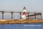 64795-02819 Michigan City Lighthouse & Pier Michigan City, MI