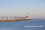 64795-02901 Michigan City Lighthouse & Pier Michigan City, MI