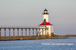 64795-02903 Michigan City Lighthouse & Pier Michigan City, MI