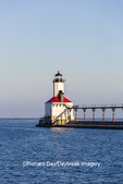 64795-02910 Michigan City Lighthouse & Pier Michigan City, MI