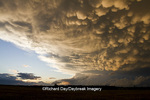 63891-02418 Mammatus clouds after storm,  Marion Co. IL