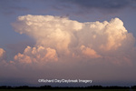 63891-02514 Storm clouds at sunset, Marion Co., IL