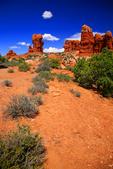 UT Utah, Arches National Park, North America; United States of America {America, U.S., United States, US, USA}; Utah; Arches National Park; Balanced Rock