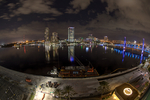 Jacksonville, St. John's River, skyline, night, night time, Blue Bridge, Florida, arial, air photo, FL021319_20_21_22_Balancedss.jpg