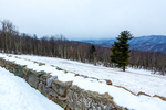 Hazeltop Ridge Overlook, south end of Massanutten Mountain which bisects the Shenandoah Valley, Shenandoah National Park, Virginia, USA, Appalachian Mountains, Blue Ridge Mountains, Winter {wintertime}; snow, ice, Shenandoah National Park, Virginia, Appalachian Mountains, Blue Ridge Mountains, USA SNP5D4232.CR2