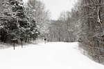 Shenandoah National Park, North Entrance, Skyline Drive, seasons; Winter, wintertime; snow, VA, Virginia,  February; SHEN012051cs.tif