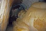HUGE RECLINING BUDDHA OF SHINBINTHALYAUNG TEMPLE, PAGAN, BURMA