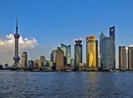 PUDONG, THE NEW ECONOMIC CENTER OF SHANGHAI, CHINA