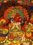 DOOR GUARDIAN; GANDEN MONASTERY; FOUNDED 1409; TIBETAN BUDDHISM