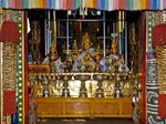 IMAGES OF MOMKS; GANDEN MONASTERY; FOUNDED 1409; TIBETAN BUDDHISM