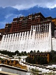 THE POTALA; AN ARCHITECTURAL WONDER OF THE WORLD; LHASA; TIBET