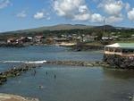 BAY & FISHING PORT OF HANGA ROA, THE ONLY SETTLEMENT ON EASTER ISLAND