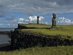 MOAI OF AHU TOHAI & AHU KO TE RIKU, EASTER ISLAND