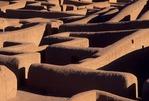 ADOBE WALL REMAINS OF PAQUIME (CASAS GRANDES), CHIHUAHUA, MEXICO