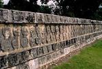 TZOMPANTLI (SKULL RACK), CHICHÉN ITZÁ, YUCATÁN, MEXICO