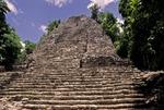 TEMPLE OF THE CHURCHES, COBA (MAYA), QUINTANA ROO, MEXICO