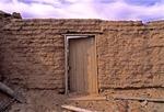 ADOBE HOUSE WALL, GHOST TOWN OF INDIO, PRESIDIO COUNTY, TEXAS