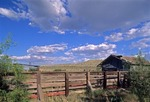 ABANDONED CATTLE PEN, GHOST TOWN OF LONGFELLOW, PECOS COUNTY, TEXAS
