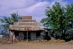 STORE-SERVICE STATION-POST OFFICE, GHOST TOWN OF SANCO, TEXAS