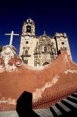 IGLESIA LA VALENCIANA, WITH BEAUTIFUL CHURRIGUESQUE FAÇADE, GUANAJUATO, MEXICO