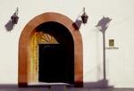 COLORFUL & TASTEFUL DOORWAY, CAMINO REAL HOTEL, OAXACA, MEXICO