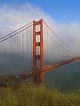 THE GOLDEN GATE BRIDGE IN FOG & SUN