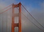 THE GOLDEN GATE BRIDGE IN FOG & SUN