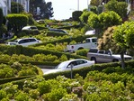 LOMBARD STREET, THE CROOKEDEST STREET IN THE WORLD, SAN FRANCISCO, CALIFORNIA