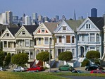 PAINTED LADIES, ALAMO SQUARE, SAN FRANCISCO, CALIFORNIA