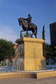 STATUE OF GENERAL IGNACIO ZARAGOZA, HERO OF CINCO  DE MAYO