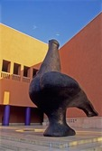 LA PALOMA (THE DOVE) SCULPTURE BY JUAN SORIANO, MONTERREY, MEXICO