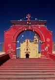 CAPILLA DE SAN MIGUEL, XOCHITECATITLA, TLAXCALA, MEXICO