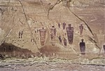 PHANTASMOMORPHIC PICTOGRAPHS OF THE GREAT GALLERY, BARRIER CANYON, UTAH