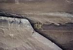ANASAZI PICTOGRAPHS OF ANTHROMORPHIC FIGURES, CANYON DE CHELLY, NAVAJO NATION