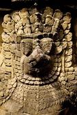 GARUDA SUPPORTING THE TERRACE OF THE ELEPHANTS, ANGKOR THOM, CAMBODIA