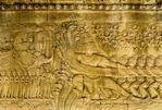 ASORIM HOLDING VASUKI, CHURNING THE OCEAN OF MILK, ANGKOR WAT, CAMBODIA Angkor, Cambodia.