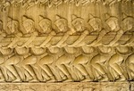 GODS PARTICIPATE IN CHURNING THE OCEAN OF MILK, ANGKOR WAT, CAMBODIA