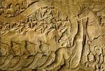 HANUMAN ASSISTS IN CHURNING THE OCEAN OF MILK, ANGKOR WAT, CAMBODIA
