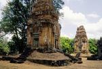 BRICK TOWERS, BAKONG, ROLOUS, CAMBODIA