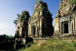 BRICK TOWERS, BAT CHUM, CAMBODIA