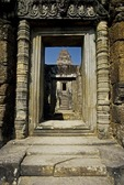 DOORWAY, EAST MEBON, ANGKOR, CAMBODIA