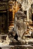 GUARDIAN LION, PREAH KO, ROLOUS, ANGKOR, CAMBODIA