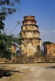 THE CENTRAL TOWER, PRASAT KRAVAN. ANGKOR, CAMBODIA