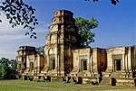 THE FIVE TOWERS OF PRASAT KRAVAN. ANGKOR, CAMBODIA