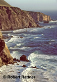 Big Sur, California; view south from Bixby Creek Bridge