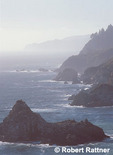 Big Sur, California; view north from Julia Pfeiffer Burns State Park