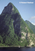 Petit Piton and Soufriere Bay