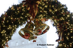 Christmas decorations at Quincy Market, Faneuil Hall Marketplace