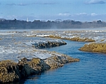 Winter on the Webhannet River, Rachel Carson National Wildlife Refuge, Wells, South Coast, ME