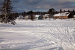 A winter view of Rangeley, ME, USA
